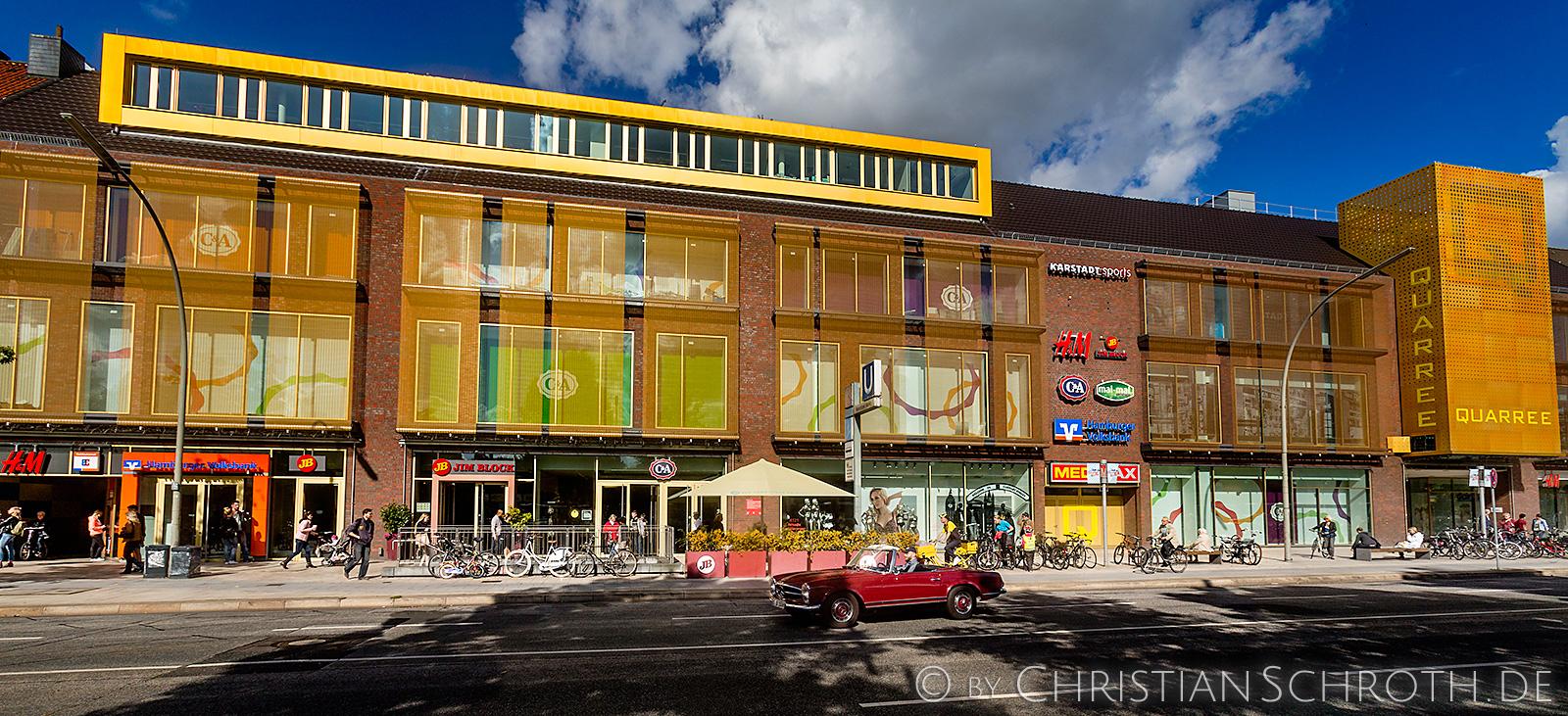 Einkaufszentrum Quarree
