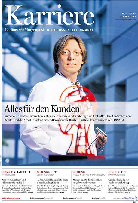 Der Neurologe Prof Thomas Meyer leitet die ALS-Ambulanz der Berliner Charité